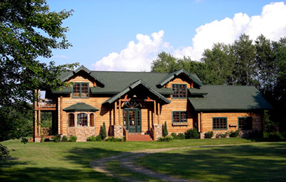 bradshaw log home